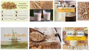 Beneficios de la leche de espelta para tu salud