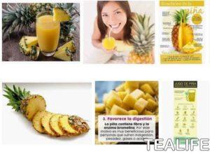 Propiedades del zumo de piña para tu cuerpo