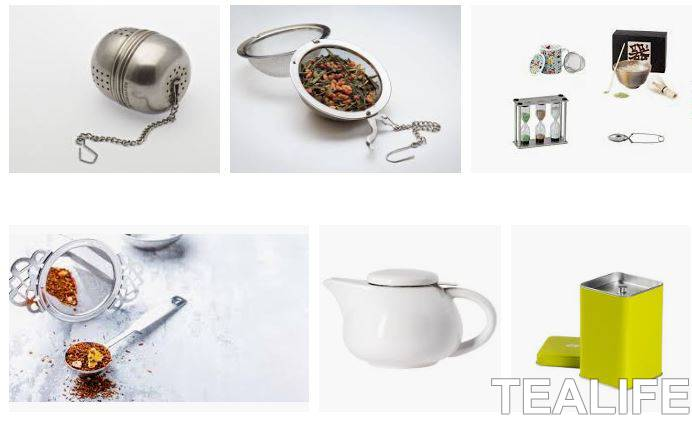 accesorios para el té